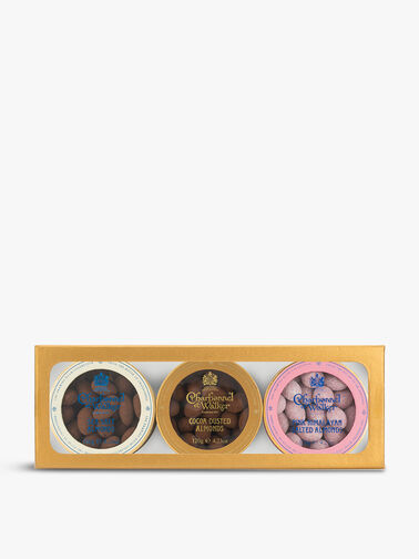 Cocoa Dusted, Sea Salt and Pink Himalayan Almonds Gift Set
