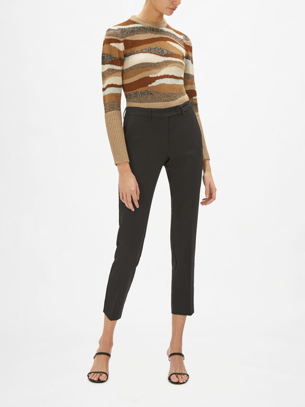 Isba Cropped Trousers