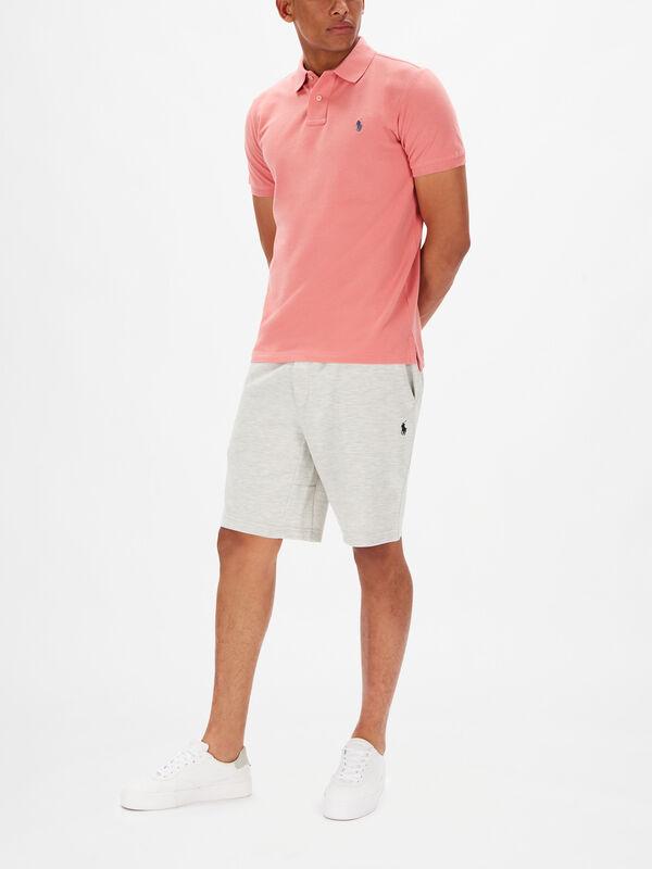 Basic Mesh Custom Fit Polo Shirt