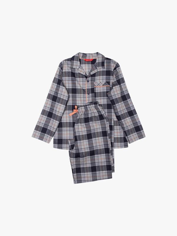 Check Charcoal Pyjamas