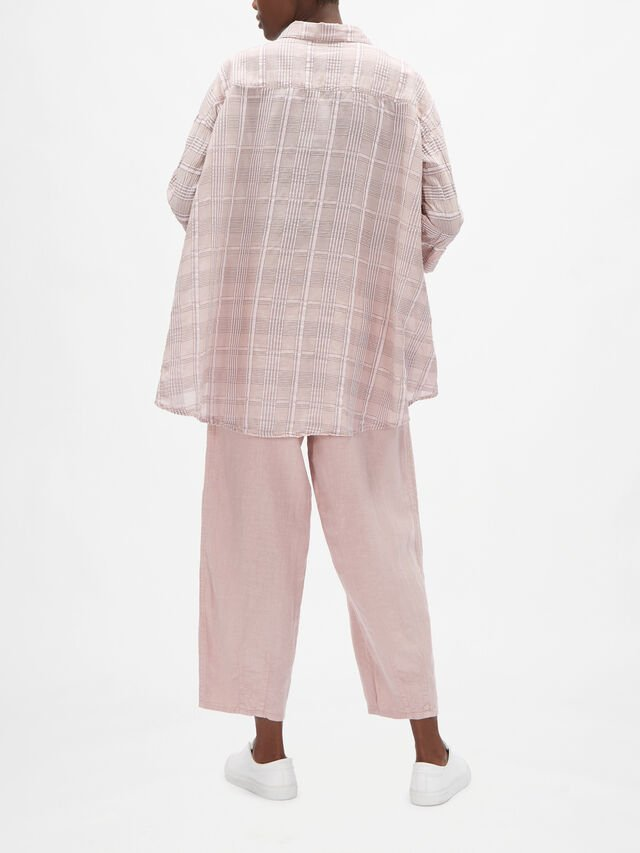 Cotton Check Relaxed Fit Shirt