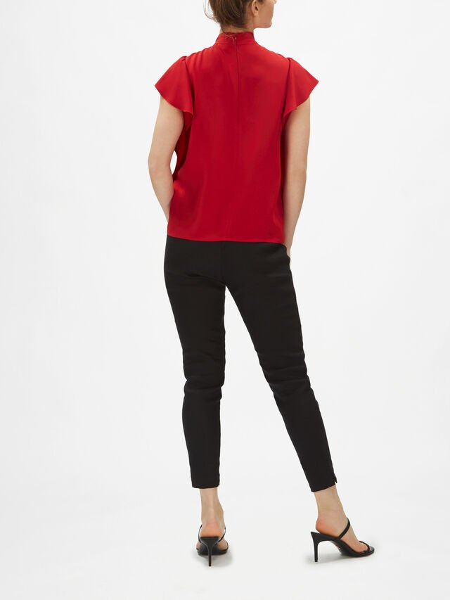 Bow Detail Top