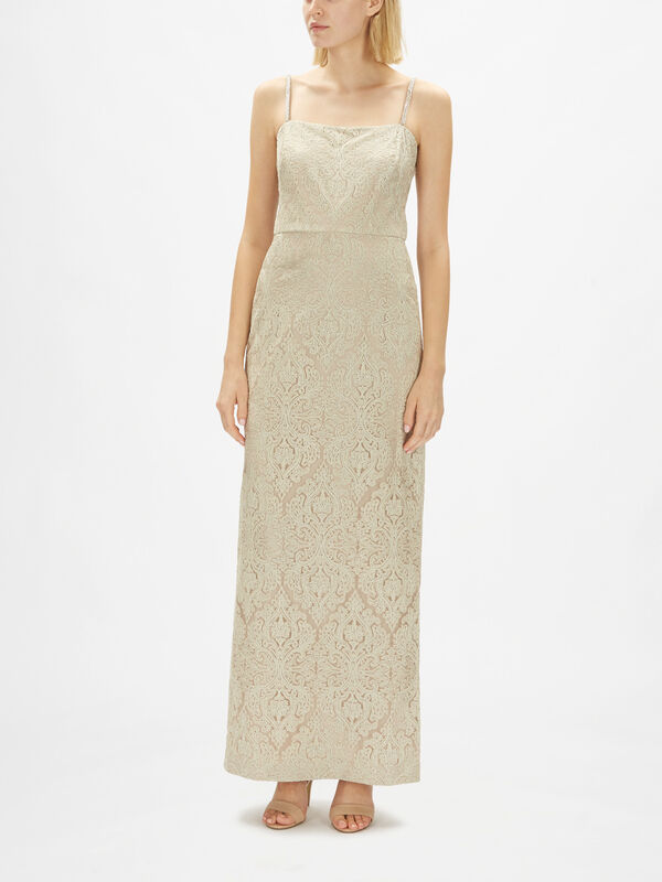 Elzie Strapless Evening Dress