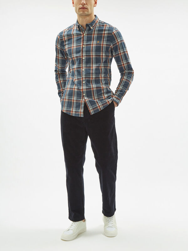 Steen Slim Fit Check Shirt
