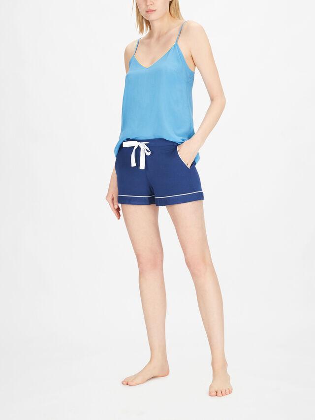Libby Indigo Knit shorts
