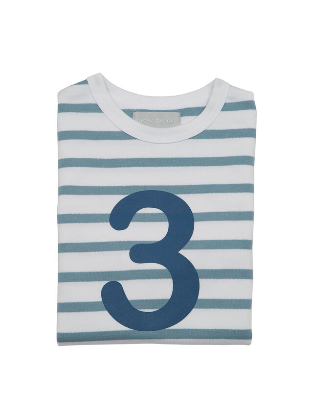 Breton Striped Number T - Shirt