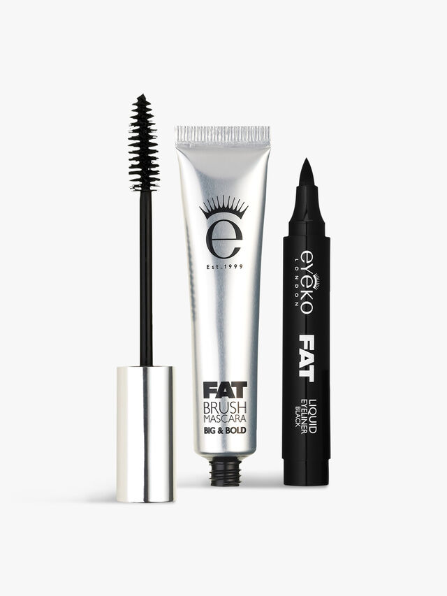 Eyeko Fat Brush Mascara & Fat Liquid Eyeliner Duo