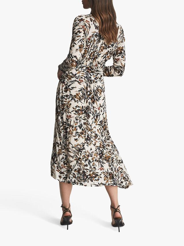 Bobby Floral Printed Midi Dress