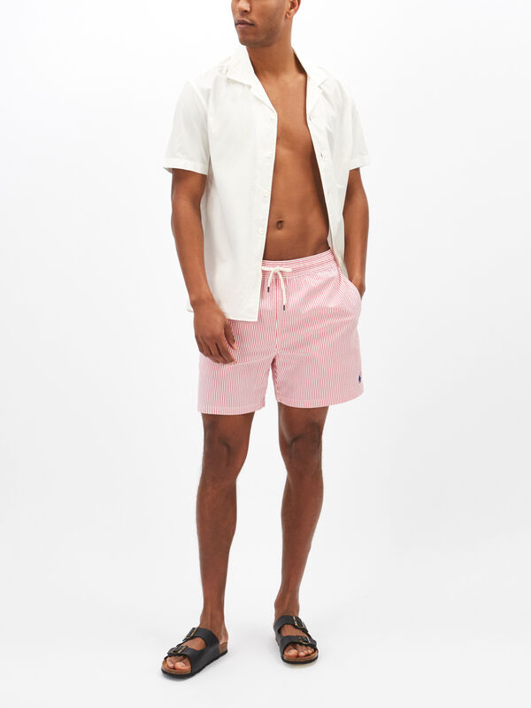 Seersucker Traveller Swim Shorts