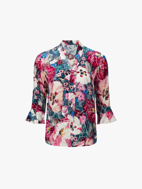 Pasto Flower Pattern Top