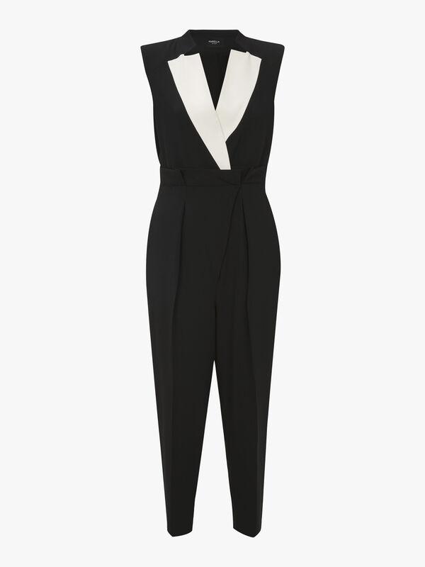 Scorpio Belted Sleeveless Jumpsuit