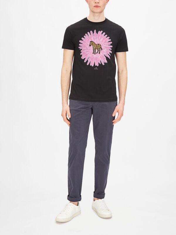 Zebra Flower T-Shirt