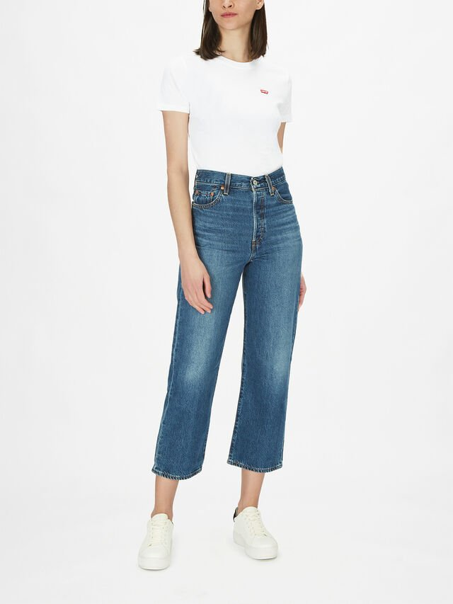 Ribcage Straigth Ankle Jean