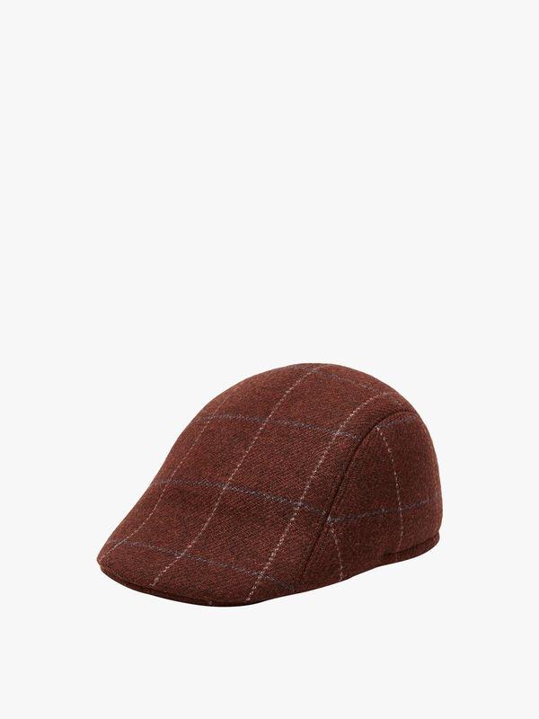 Men Hat Majit Check