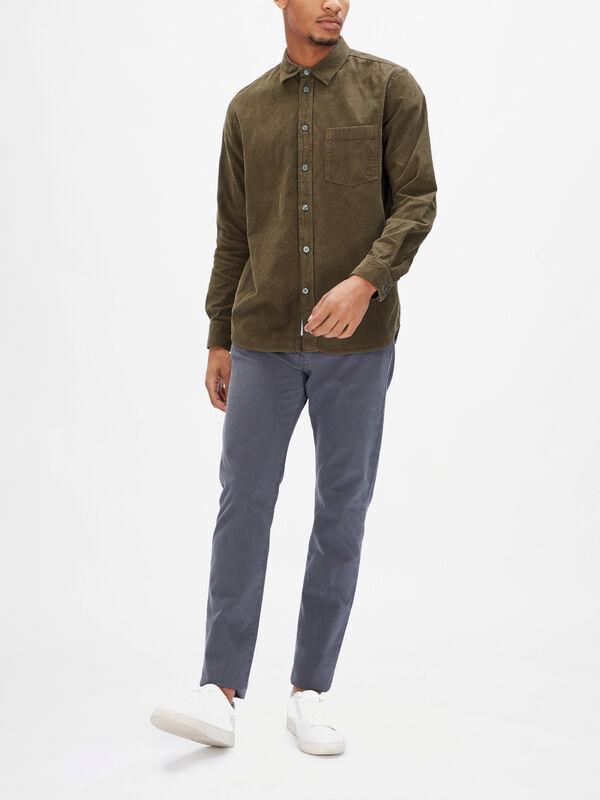 Aske Corduroy Shirt