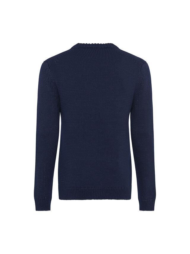 Chunky Indigo Sweater