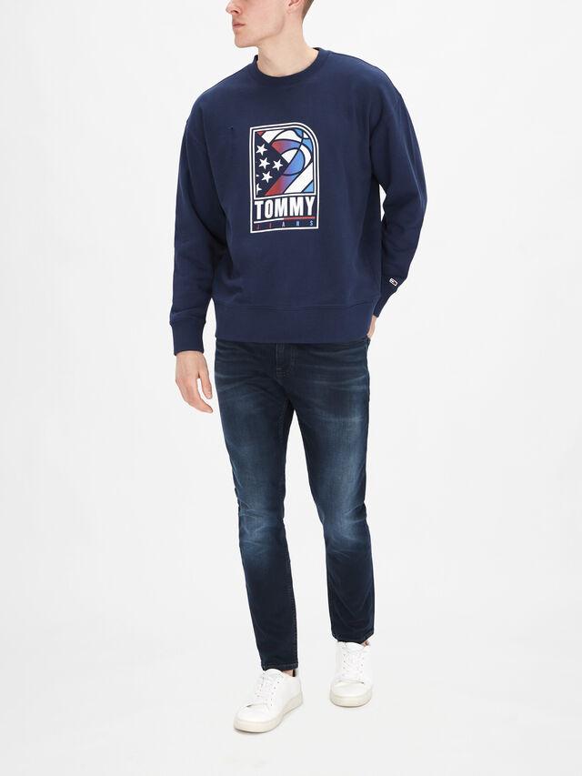 Basketball Crewneck Sweatshirt