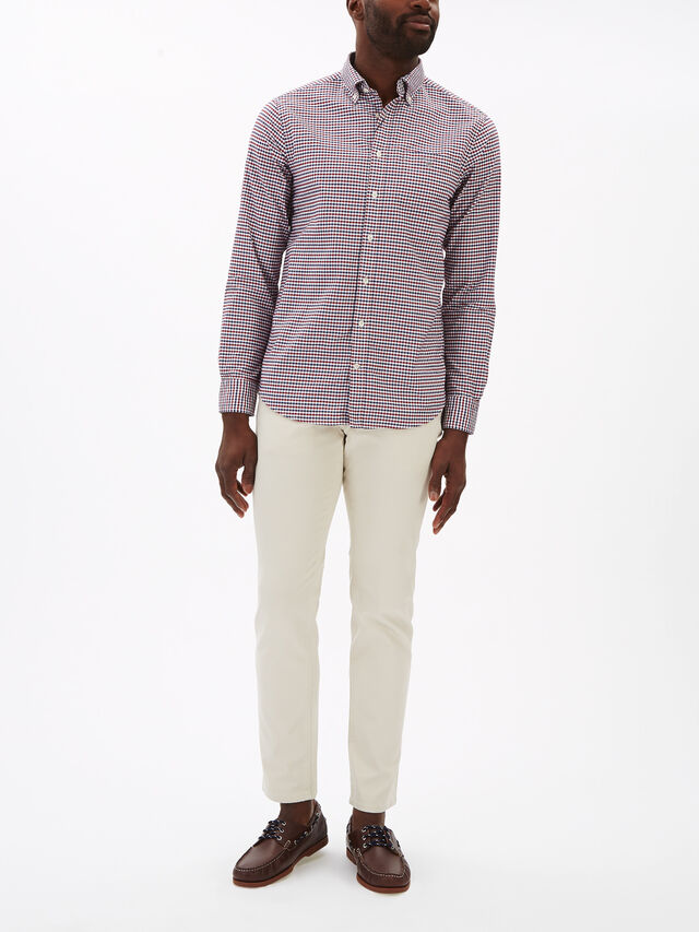 Regular Fit Madras Oxford Shirt
