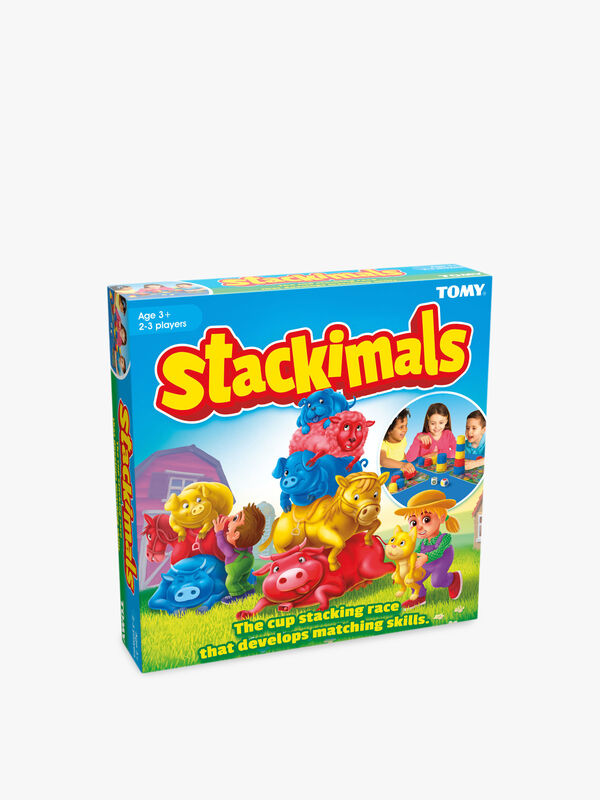 Stackimals Stacking Cups Board Game