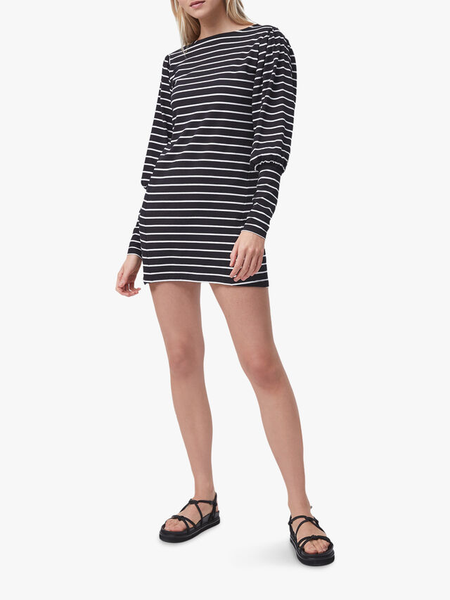 Saly Tim Tim Striped Jersey Dress