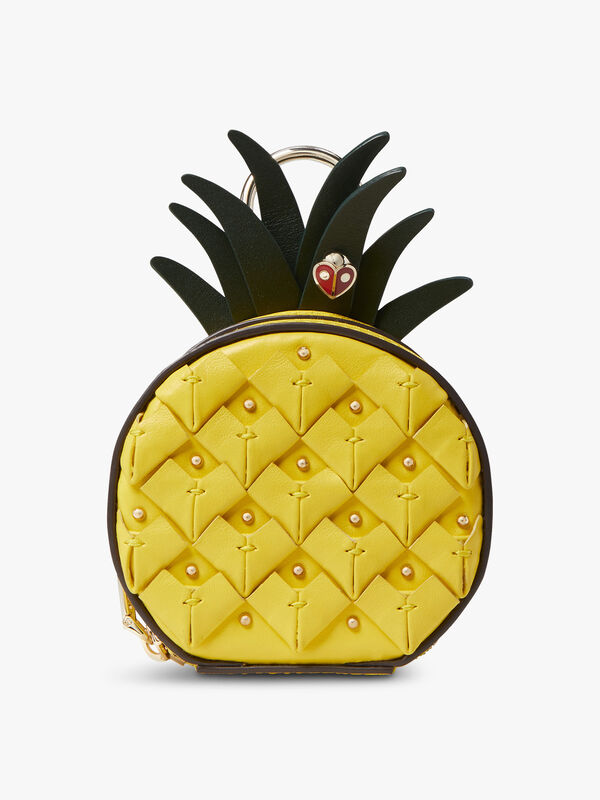 Picnic Pinapple Coin Purse