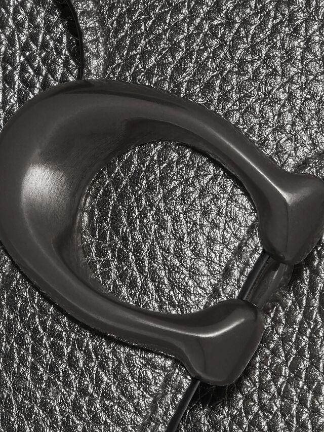 Metallic Tabby Chain Crossbody