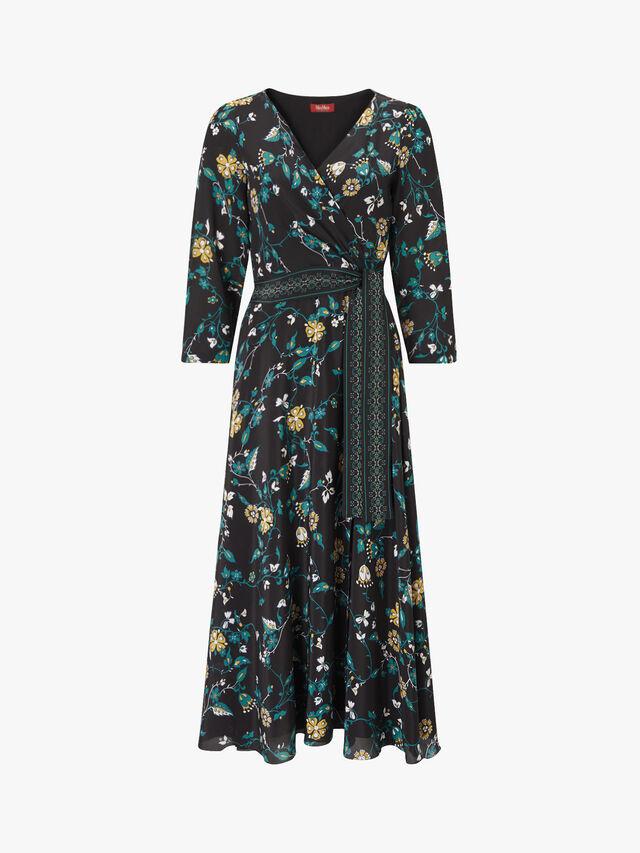 Baobab Printed V Neck Dress