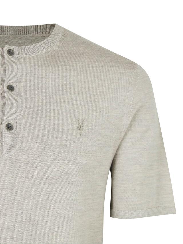 Mode Merino Short Sleeve Henley