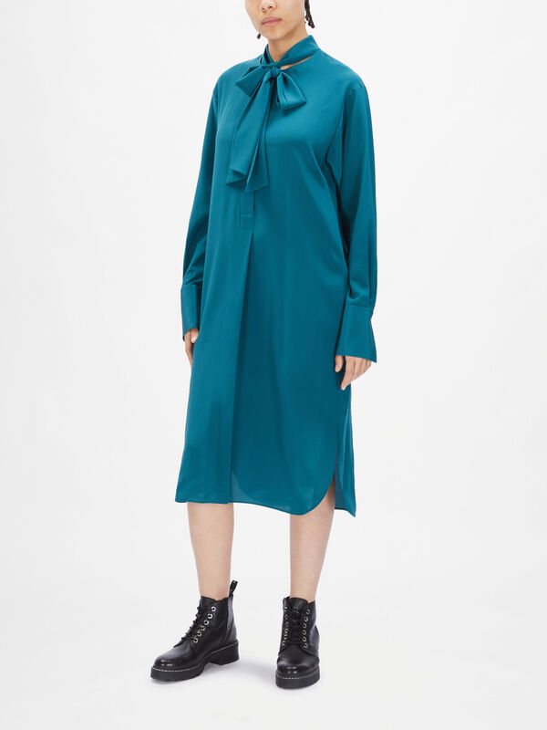 Dorianne CDC Long Sleeve Midi Dress
