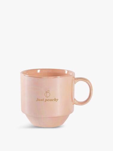 Just Peachy Pearlised Mug