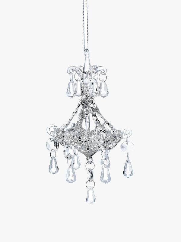 Glass Chandelier Decoration