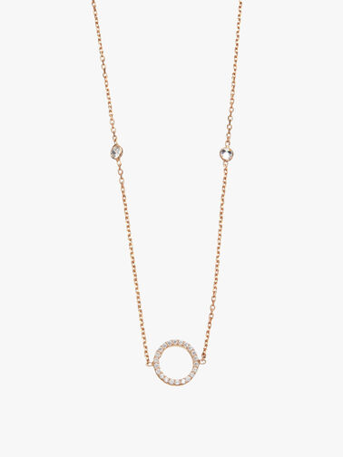 Circle of Life Crystal Necklace