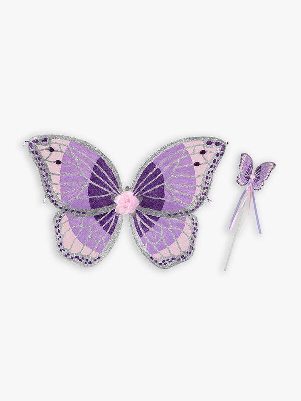 Jewel Wing & Wand Fairy Set