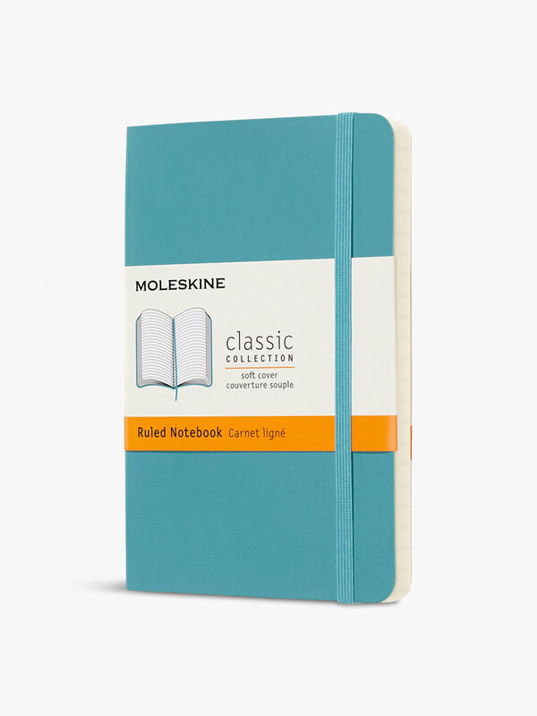 Classic Pocket Notebook Ruled Soft Cover