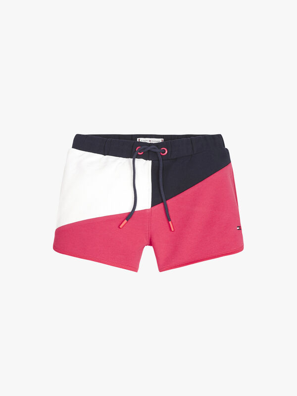 Colour-Blocked Shorts