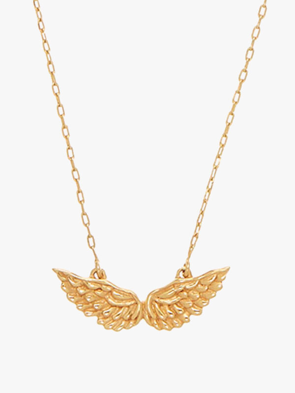 Mini Angel Wings Necklace