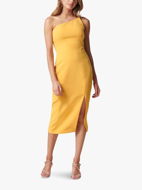 Franca One Shoulder Midi Dress