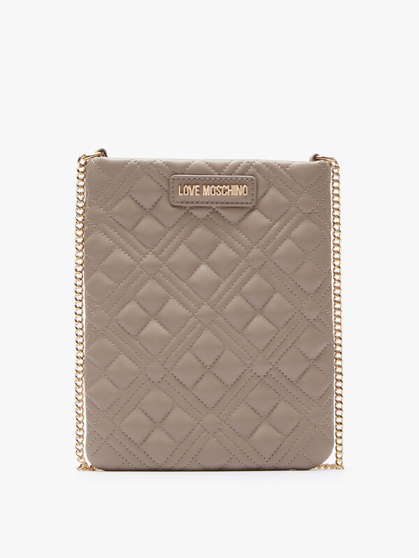 Quilted Pouch Crossbody Bag