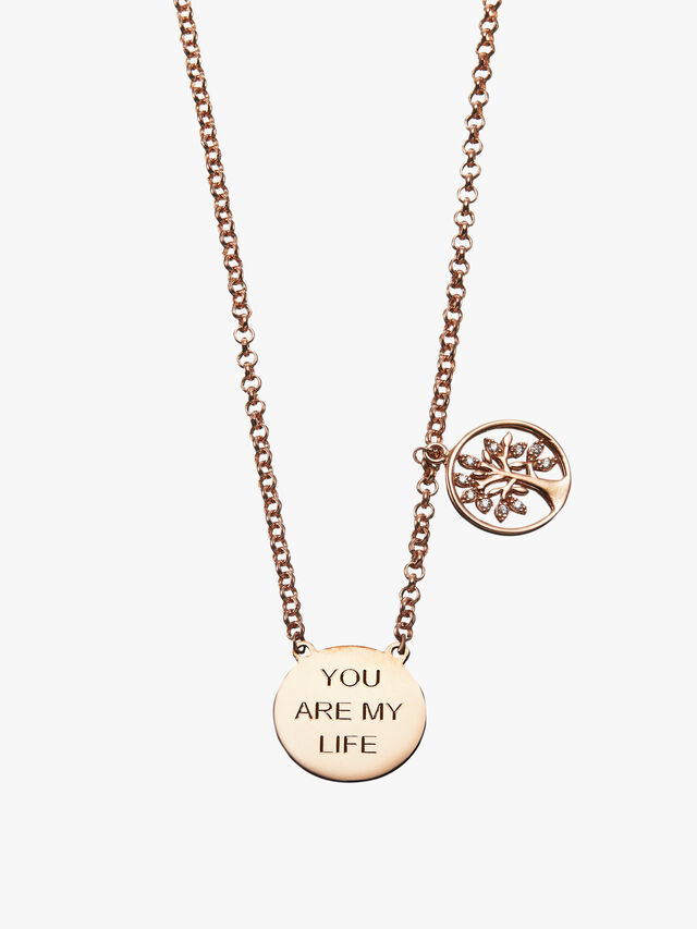 You Are My Life Tree Necklace