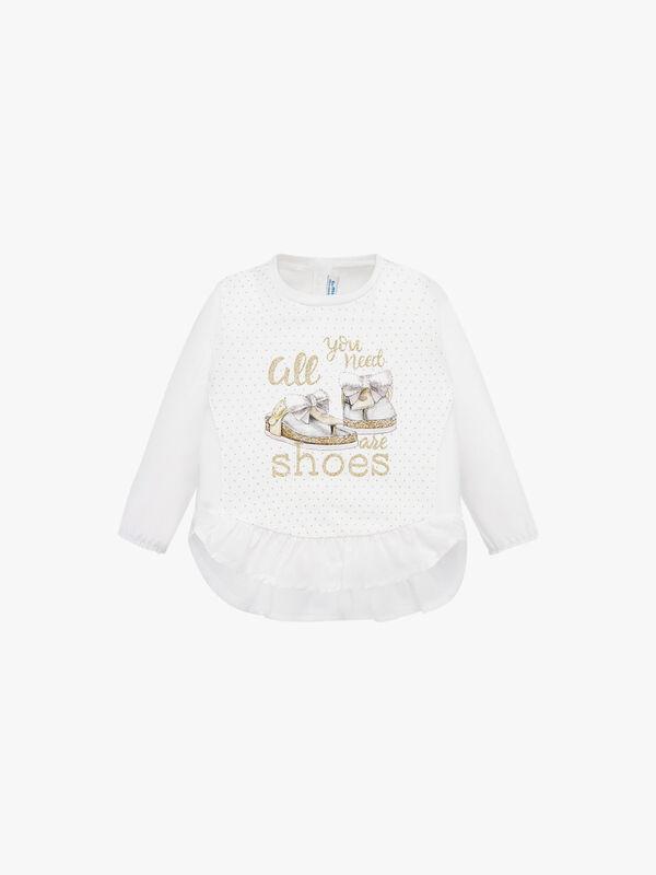 Shoe Print T-Shirt
