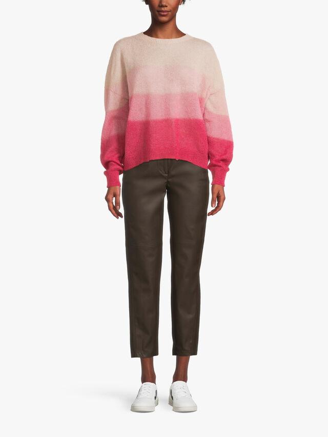 Gradient Dye Mohair Knit