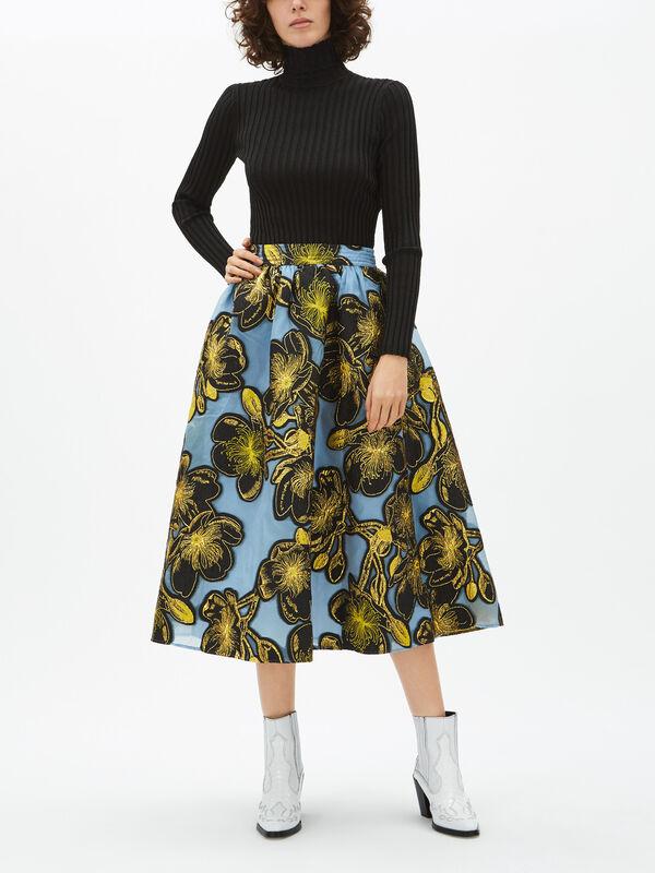 Laila Organza Skirt