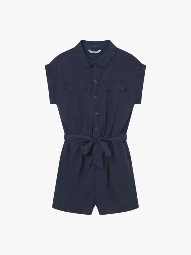 Button Thru Playsuit