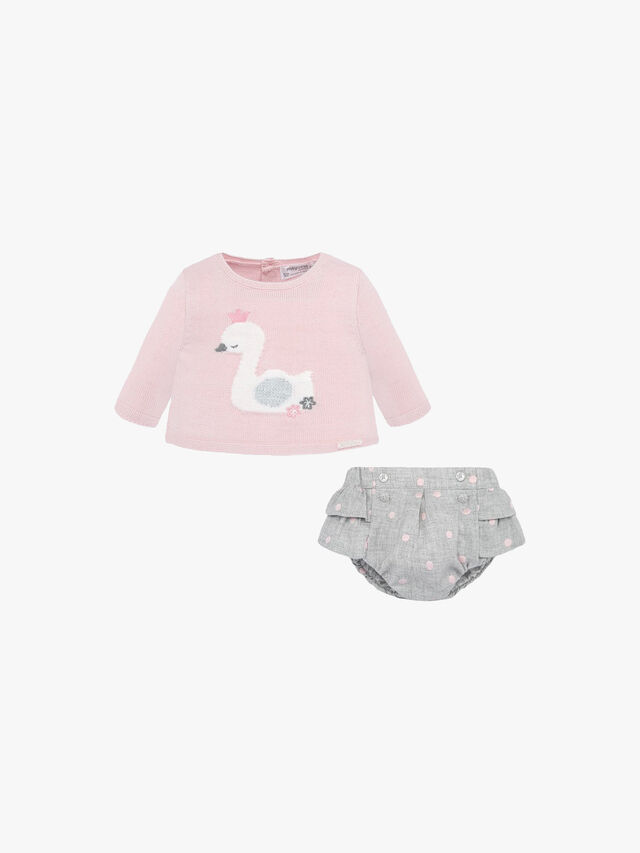Bloomers And Swan T-shirt