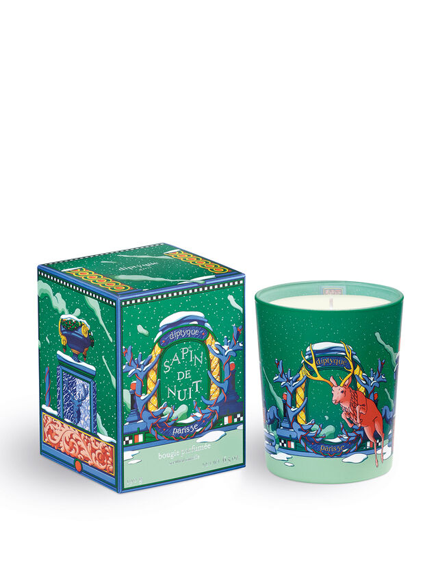 Candle And Lid Sapin De Nuit 190g