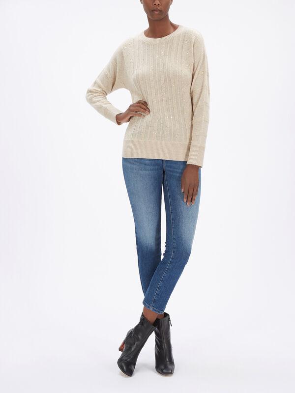 Harem Cashmere Embellished Knit