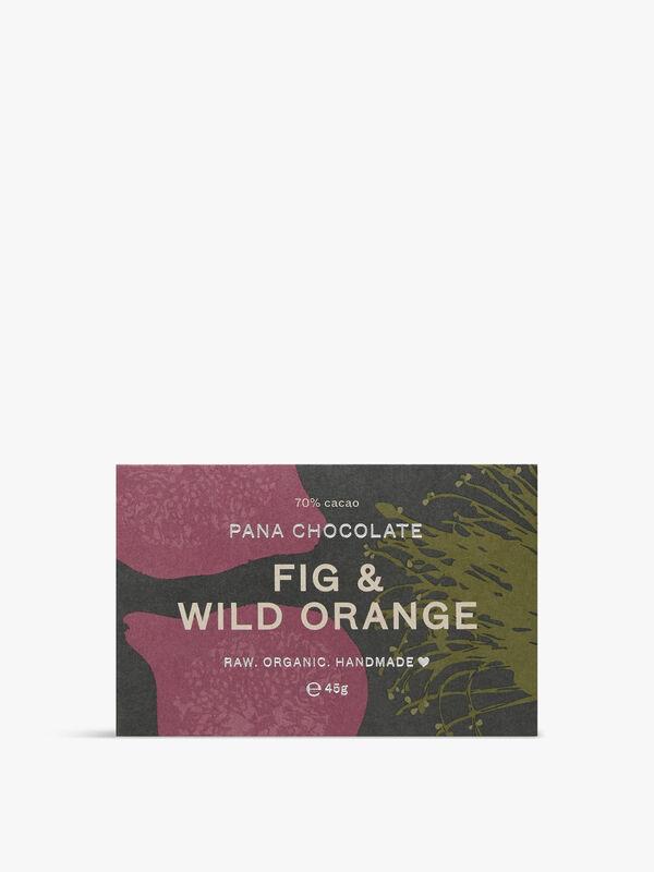 Raw Fig & Wild Orange Bar 45g