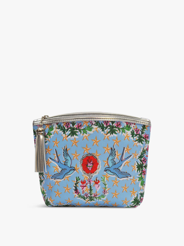 Lucy & The Swallows Classic Make Up Bag
