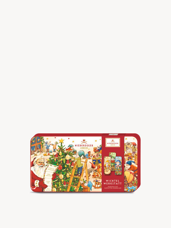 Elves Workshop Chocolate Tin