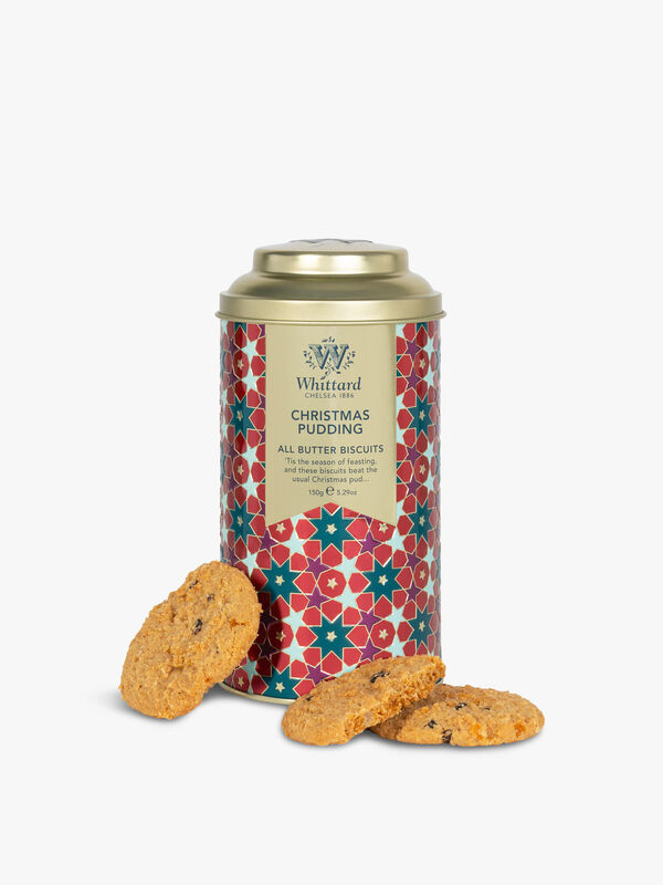 All Butter Christmas Pudding Biscuits 150g
